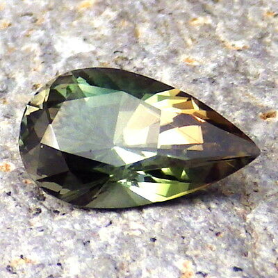 GREEN DICHROIC SCHILLER OREGON SUNSTONE 2.10Ct SI1-FOR UNIQUE JEWELRY-FROM PANA