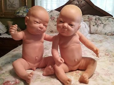 Berjusa Dolls Lot of 2 Boy & Girl 20 ""