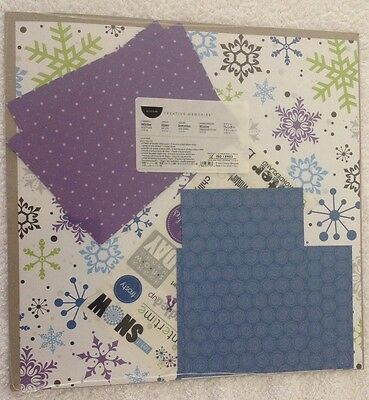 Creative Memories 12 x 12 Cheerful Winter Additions