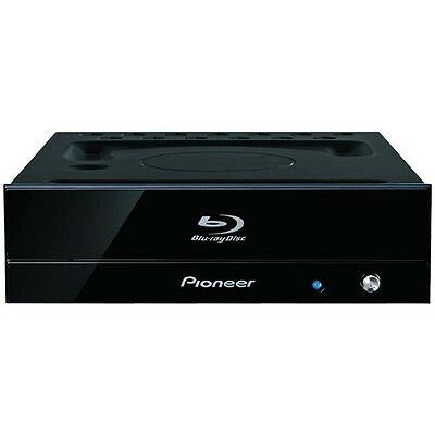 NEW Pioneer BDR-S09J-X BD-R 16x BD/DVD/CD Blu-ray Disc Writer piano black for PC