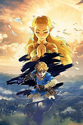 Poster A3 The Legend Of Zelda Breath Of The Wild 12