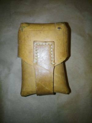Yugo leather ammo pouch for M48 (K98 Mauser)