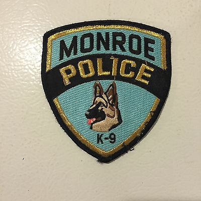 Monroe, Louisiana Police K-9 Patch Embroidered
