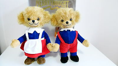 Merrythought Bears - Mr and Mrs Twisty Cheeky - Limited Edition - Boxed