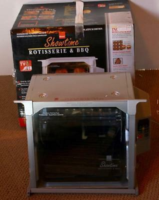 Ronco Showtime Rotisserie BBQ SILVER Digital   Model 5000 Works Great