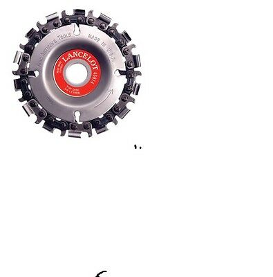Lancelot Saw Chain Disc  For Rapid  Wood Removal & Cutting #47822 Fine     2