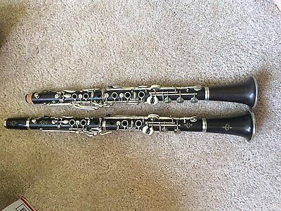 2 Old Bb Selmer Paris Albert System Clarinets