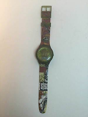 "Jurassic Park, ""The Lost World"" Watch, Stegosauraas 1997, Burger King, Pre-owned"
