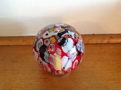 Hand blown Glass Friendship Ball  best friend or good friend gift no 96