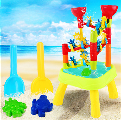 Sand And Water Play Table Kids Toy Beach Outdoor Activity Centre Playset Sandbox