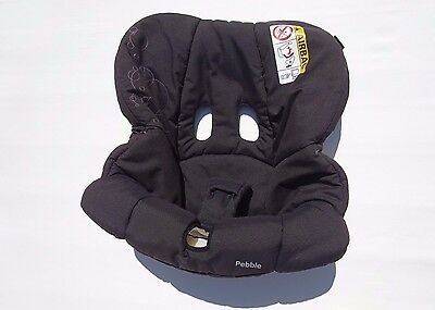 Genuine MAXI COSI Pebble COVER Black for Car Seat Group 0+ VGC