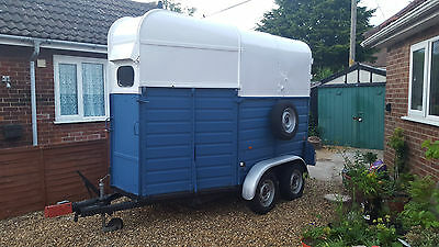 Newly renovated horse box/ trailer