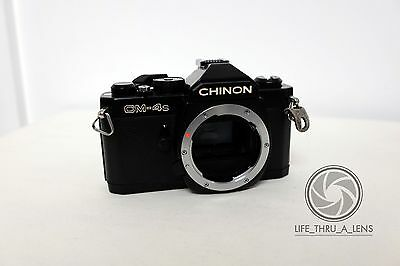 Chinon CM-4s 35mm SLR Film Camera Body Only Pentax K Mount