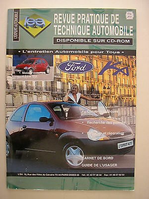Revue technique automobile RTA Ford KA essence 1.3I 4 cylindres