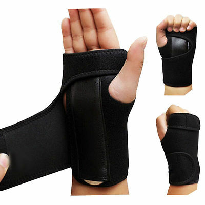 1pcs Wrist Support Hand Brace Band Carpal Tunnel Splint Arthritis Sprains Useful