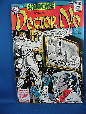 Showcase #43 (Mar-Apr 1963, DC) DR NO First James Bond in Comics Scarce