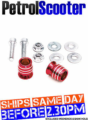 Alloy Handlebar Bar End Weight Caps Red Motorcycle Motorbike Bicycle 22mm 7/8''