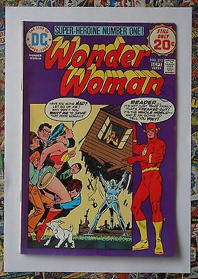Wonder Woman #213 - Sep 1974 - Flash Appearance! - Vfn/nm (9.0) Investment Grade