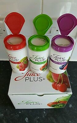 Juice PLUS+® Premium Capsules 3x1 Bottles (2 Months Supply) Expire 08/2018