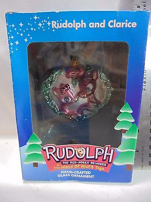 Rudolph Clarice The Brass Key Collection Rudolph The Island Of Misfit Toys Glass