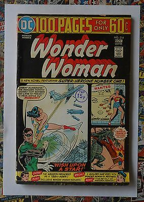 Wonder Woman #214 - Nov 1974 - Green Lantern Appearance! - Fn (6.0) 100 Pages