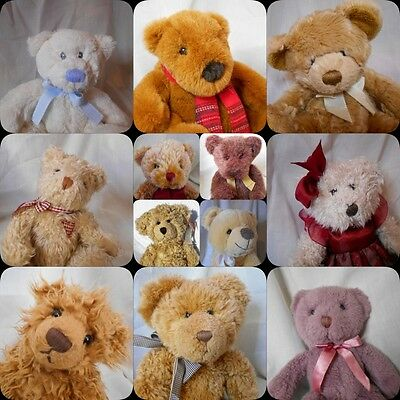 selection of Russ Berrie large Teddy bears