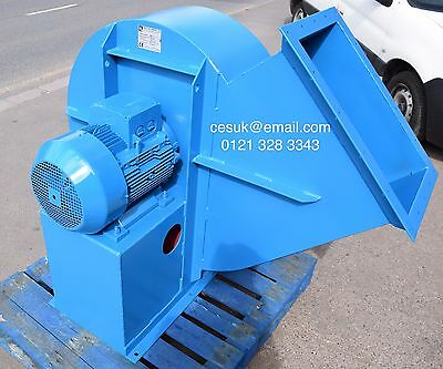 Large Industrial Centrifugal Fan Blower Spray Booth Extractor Siemens 18.5kW
