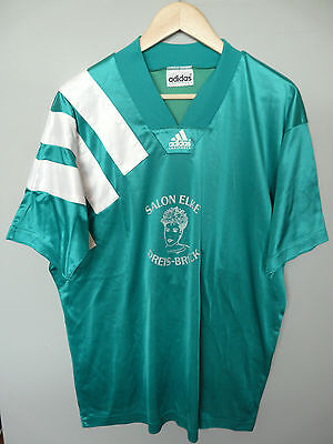 Vtg Adidas Equipment 90's Football Shirt Trikot Jersey #4 Sz XL (050)