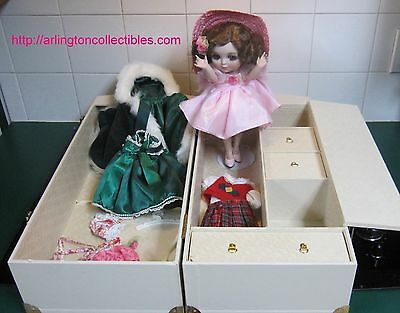 "RARE Adora The Season Belle - Trunk Signed by MARIE OSMOND ☆ 063/300 ☆ 12"" Doll"