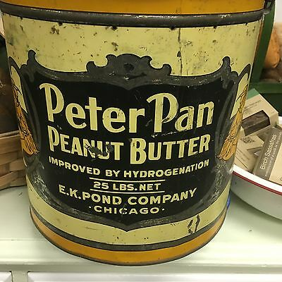 Peter Pan Peanut Butter Tin