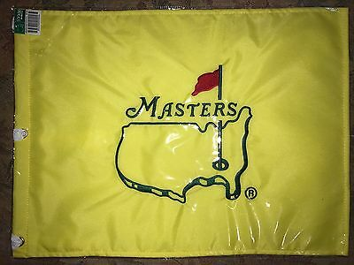 Undated MASTERS pin flag brand new Augusta National