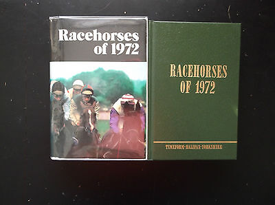 "Timeform ""racehorses Of 1972"" Almost Mint In It's Original Packing"