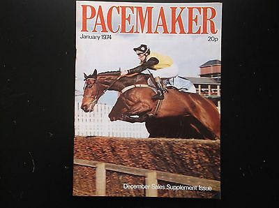 Pacemaker Magazine  Jan. 1974  Credo's Daughter On Cover