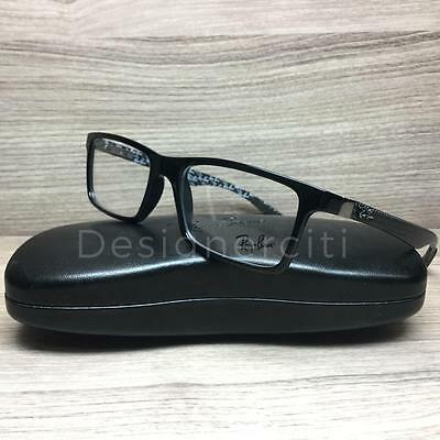 67e45c9b8b Ray Ban RB 8901 RB8901 Eyeglasses Black Carbon Fiber 5610 Authentic 53mm