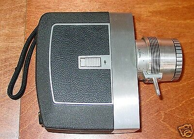 Bell & Howell Directors Series Zoomatic  8mm Movie Camera.