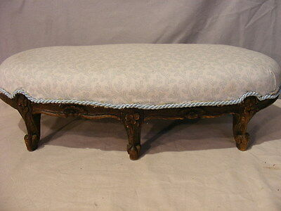 ANTIQUE FRENCH SMALL FOOTSTOOL Lot 315