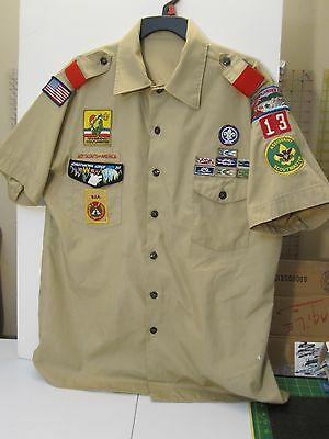 '73 National Jamboree Boy Scout Uniform 17 to 171/2 (no tag) 46 inch Chest Size