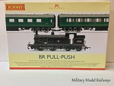 Hornby R3087 OO Gauge BR Pull-Push Train Pack DCC Ready