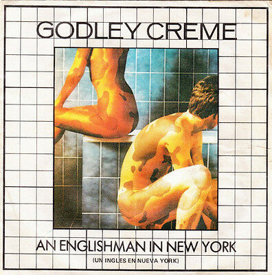 Godley Creme. An Englishman in New York. Get Well Soon. Single 45 rpm Polydor