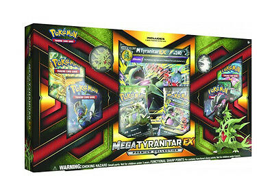 POKEMON TCG: MEGA TYRANITAR EX PREMIUM COLLECTION BOX (PRE ORDER-SHIPS 2Nd July)