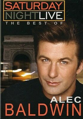 Saturday Night Live: The Best of Alec Baldwin (2006, DVD NUEVO) (REGION 1)