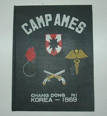 Camp Ames Korea 1969 Year Book 110th Military Police 833 Ord Co 30th Ord 150 Med