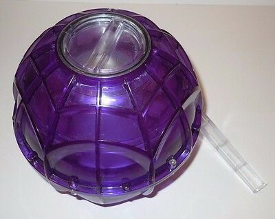 Ice Cream Maker Purple Ball Revolution Camping Outdoor Home Pint Freeze Camper