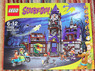 Lego Scooby Doo Mystery Mansion 75904 Brand *new* In Sealed Box