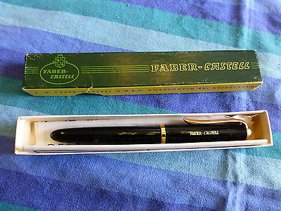 "Faber Castell / OSMIA 661 NIB ""OF"" fountain pen used in original box and papers"