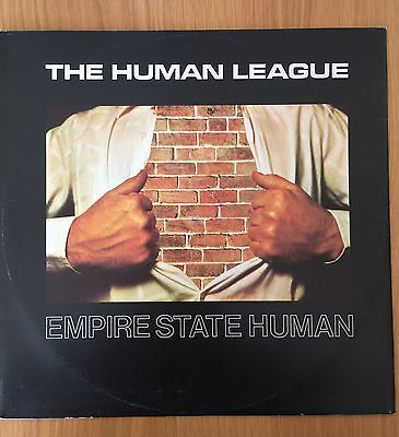 "The Human League Empire State Human 12"" Uk Includes Introducing Pic Sleeve"