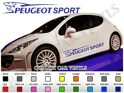 2 stickers lion autocollant pour peugeot 206 207 208 306. Black Bedroom Furniture Sets. Home Design Ideas