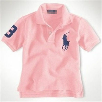 2017 boys and girls children cotton short-sleeved polo T-shirt 3-12 years