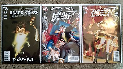Justice Society America #23, 24, 25 (2007) Ross | Black Adam | COMBINED SHIPPING
