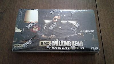 Cryptozoic Walking Dead Season 3 Part 2 T/C Sealed Box TWD